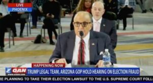 """Crowd Erupts in Cheers as Giuliani Tells AZ State Lawmakers: """"Your Political Career is Worth Losing if You Can Save the Right to Vote in America"""" (VIDEO)"""