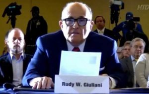 Live-Stream Video: Arizona State Legislature Holds Hearing with Rudy Giuliani and Jenna Ellis on Stolen Election — 11 AM Eastern
