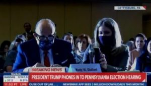 """""""This is Going to Be Your Crowning Achievement!"""" – Pennsylvania Crowd APPLAUDS President Trump and Rudy Giuliani — Start Chanting, """"Trump! Trump! Trump!…"""" at Gettysburg Hearing (VIDEO)"""