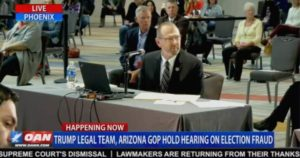 """""""There Are Literally Hundreds of Small Cyber Teams Looking Into [Dominion Voting Machines]"""" – Colonel Waldron at Arizona Voter Fraud Hearing"""