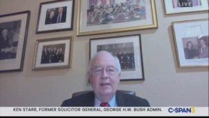 """Ken Starr: Pennsylvania """"Flagrantly Violated"""" Laws Ahead of Presidential Election (VIDEO)"""