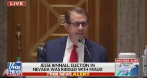 Trump Campaign Attorney Tells Senate Committee Over 42,000 People Voted More Than Once in Nevada (VIDEO)