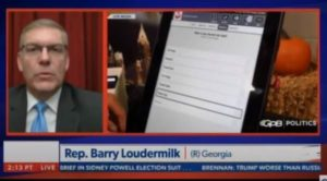 BREAKING: GOP Representative Loudermilk: An IT Technician and County Employee Wiped the Election Data from Servers in Fulton County (VIDEO)
