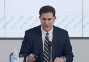 Arizona Governor Ducey Defends Signing Off on Fraudulent Election — Dirtbag Ignored Massive Evidence of Fraud… Why's That?