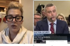 EXCLUSIVE: Michigan Witness Melissa Carone: Dominion CEO John Poulos LIED to Michigan Senate, I HAVE THE PROOF! (VIDEO)